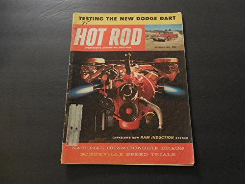 Hot Rod Nov 1959 New Dodge Dart; Natl Championship Drags; Bonneville