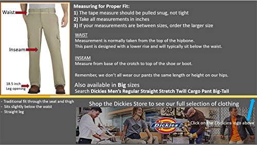 Dickies Men's Regular Straight Stretch Twill Cargo Pant 51P 2BRRV7N5L