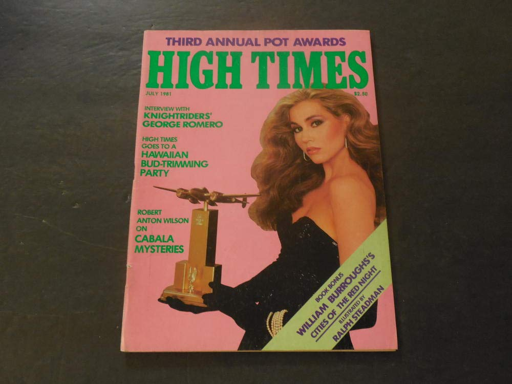 High Times Jul 1981 George Romero; Bud Trimming Party; Cabala