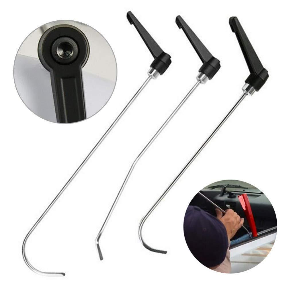 WGLLD PDR No Paint Dent Repair Tool Reparaci/ón de eliminaci/ón de abolladuras Stick Stick PDR Tool para el Cuerpo Granizo Da/ño Puerta Dent