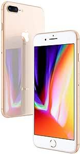 Apple iPhone 8 Plus Gold 64GB SIM-Free Smartphone (Renewed)