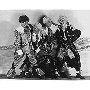 "Globe Photos ArtPrints Marx Brothers Smiling In A Clown Outfit - 10"" X 8"" Pop Culture Art Photographic Full Bleed Print - Premium Paper"