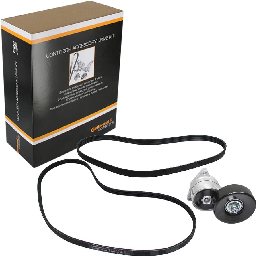 ContiTech ADK0010P Accessory Drive Belt Kit