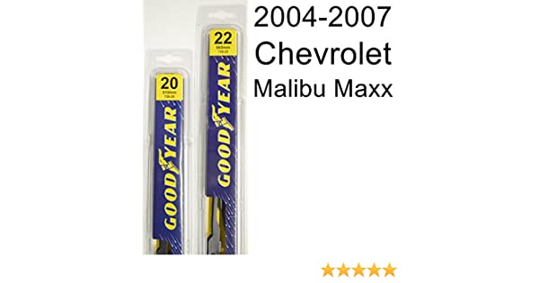 d0f4f24c25 Amazon.com  Chevrolet Malibu Maxx (2004-2007) Wiper Blade Kit - Set  Includes 22