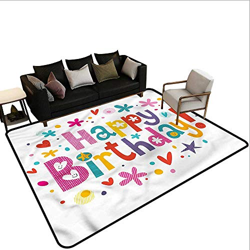 Birthday,Bath Mat Set Kitchen Door 80
