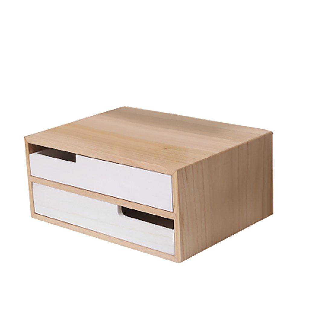File Cabinet, Desktop Extended Drawer Office Organizer (Wood),Multiple Sizes (Size : 352616cm)