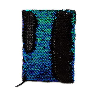 Style.Lab by Fashion Angels Magic Sequin Journal - Mermaid/Black : Office Products