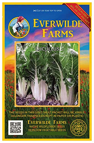 Everwilde Farms - 1 Oz Lucullus Swiss Chard Seeds - Gold Vault ()