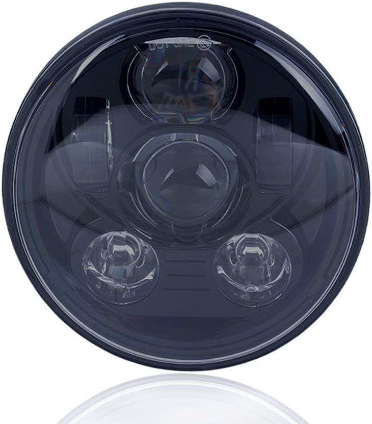 5.75Inch 45W LED Headlight for Harley Davidson Sportster Fat//Street Bob