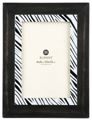 Amazon.com - Burnes of Boston 545246 Morocco Zebra Inlay, 4-Inch by ...