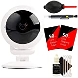 Vivitar VIV-IPC-117N IP CAM Security 360-View Wi-Fi Camera + 100 Lens Tissue + Lens Pen + Dust Blower + 3pc Cleaning Kit