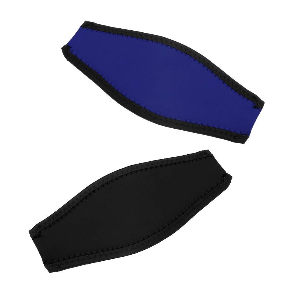 B Blesiya 2 Pz Coperchio Mask Strap Maschera Subacquea Cinturino In Neoprene per Immersioni Subacquee
