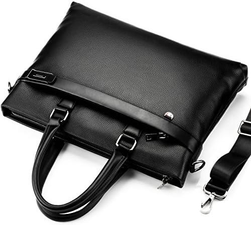 Promotions Bag Men Briefcase PU Leather Men Bags Business Male Briefcases Handbags Wholesale