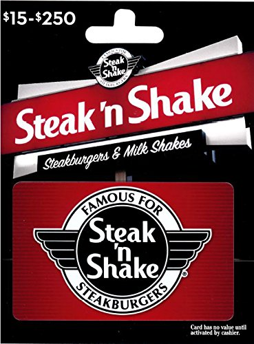 photo relating to Steak and Shake Coupon Printable titled Steak N Shake Present Card