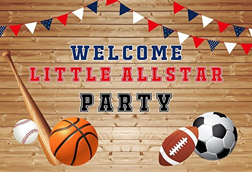 Baocicco 7x5ft Welcome Allstar Party Backdrop Vinyl Photogra