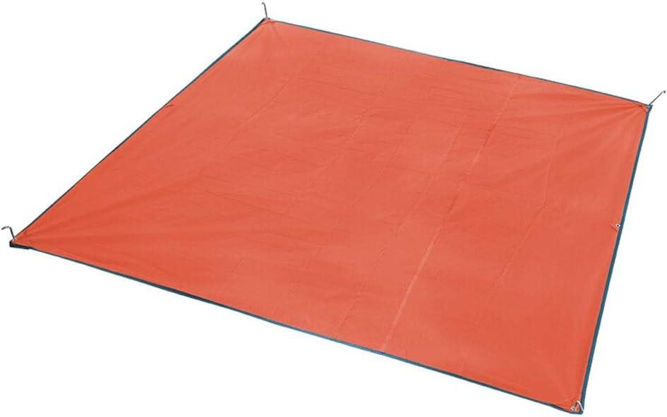 HX Lona toldos FJZ Tent Floor Cloth Al Aire Libre Sombrilla para Acampar Protector Solar Pérgola Pabellón de Tela Oxford Lona Impermeable (Color : Orange): Amazon.es: Deportes y aire libre