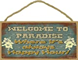Best Happy Hours Shoe Trees - Welcome to Paradise Where It's Always Happy Hour Review