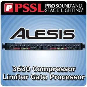 Alesis 3630 Compressor Limiter Gate Processor