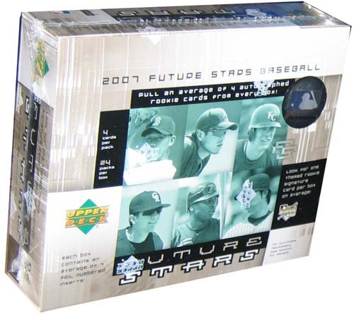 2007 Upper Deck Future Stars Baseball Factory Sealed Hobb...