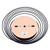 Heat Shrink Tubing Tube Kit - Maxwel HST7 Wire Cable Wrap Black PVC High Heat-Shrink Tubing Tube for Electrical Insulation, Connectors, Wiring 0.17 Inch 656 Feet Pack of 1 Roll