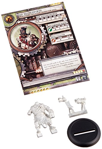 Privateer Press - Warmachine - Mercenary: Doc Killingsworth Model Kit 3