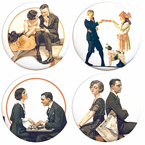 Buttonsmith Norman Rockwell Refrigerator Magnet