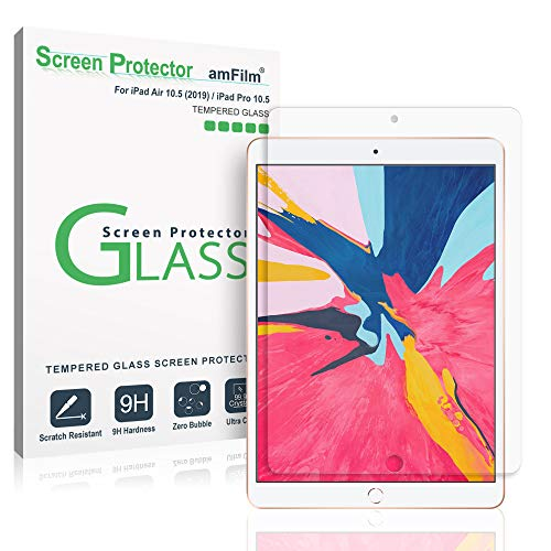 amFilm Glass Screen Protector for iPad Air 3 (2019) 10.5 inch
