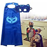Superhero PJ Mask Matching Capes & Masks Pack for Cosplays, Costumes Parties & Birthdays 51P 2BXrnvG0L