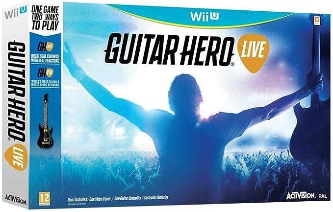 Activision Guitar Hero Live - Juego (Wii U, Multi, Guitarra ...