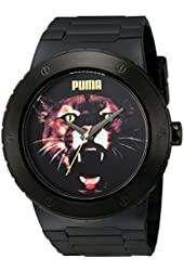PUMA Men's PU103331009 Blast G Analog Display Japanese Quartz Black Watch