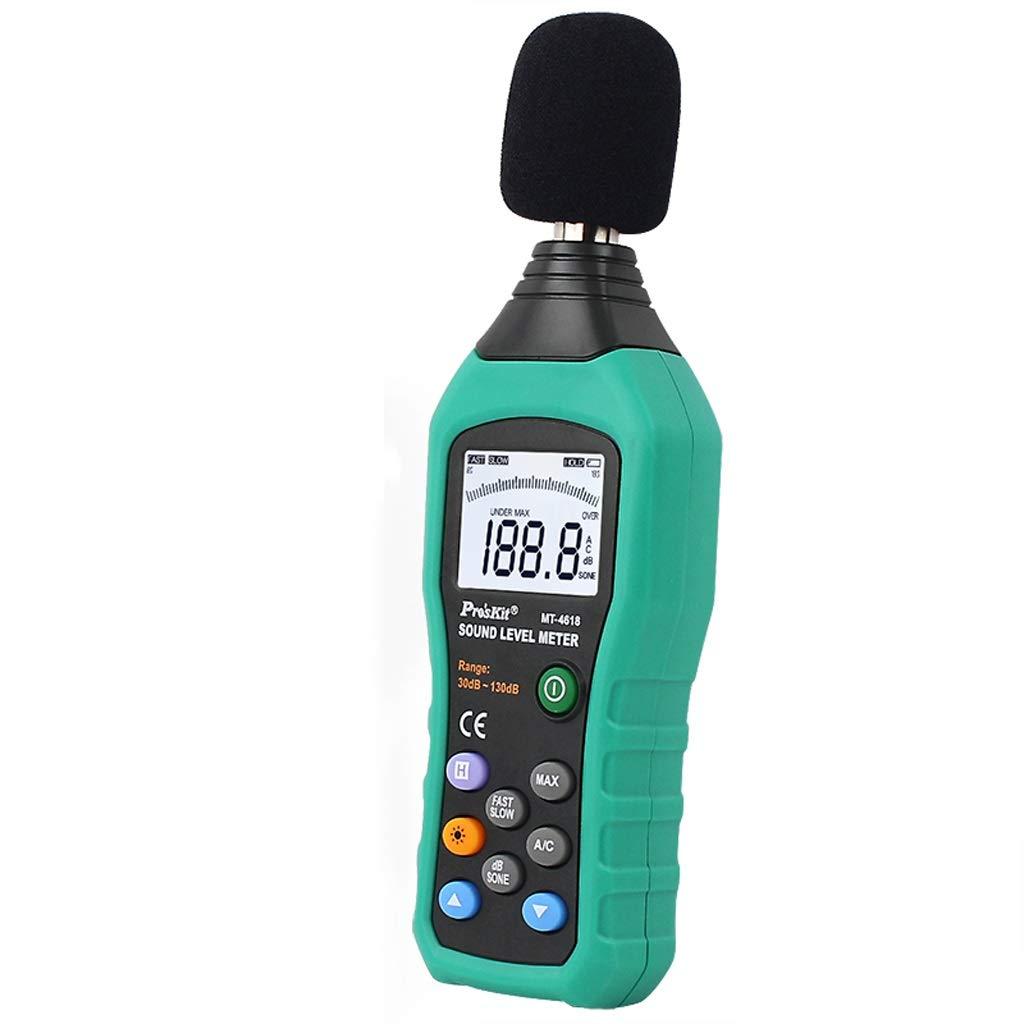 Decibel Meter High-Precision LCD Digital Backlight Noise Meter Sound Level Meter Decibel Meter Environmental Noise Test Tester Sound Measurement