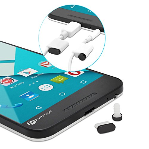 PortPlugs Aluminum Samsung Compatible Headphone