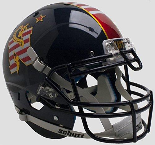 NCAA Navy Unisex NCAA Navy Midshipmen On-Field Authentic XP Football Helmetncaa Navy Midshipmen On-Field Authentic XP Football Helmet, Alt, One Size