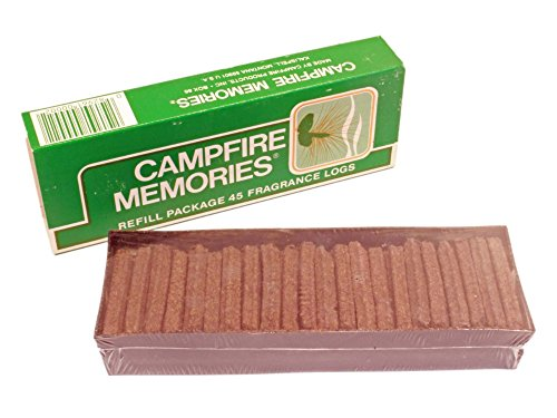 Campfire Logs (ORIGINAL Campfire Memories Incense 45 Sticks Refill Made in Montana USA Log Cabin Fragrance)