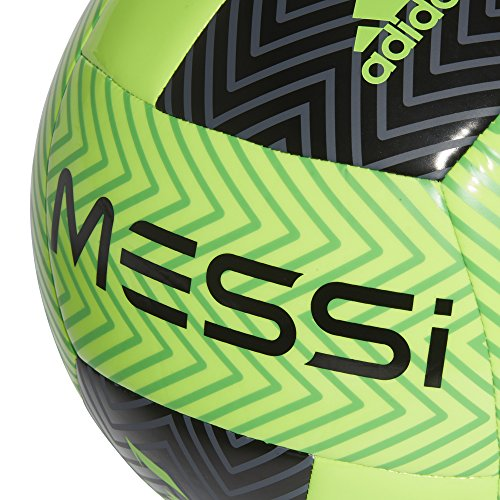 Solar Ball adidas Performance Soccer Messi Solar Lime Green Black wqvI61v