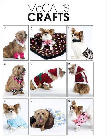 McCalls Patterns M6218 Dog Clothes