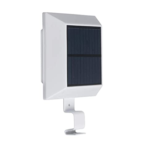 Starnearby 6 luces LED solares sensor de movimiento, impermeable, luces de seguridad brillantes al
