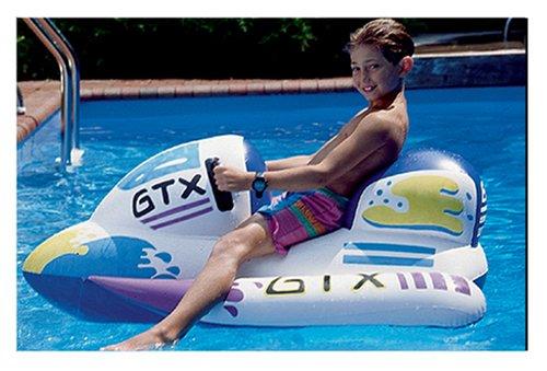 (Swimline GTX Wet Ski Inflatable Ride-On 1 White)