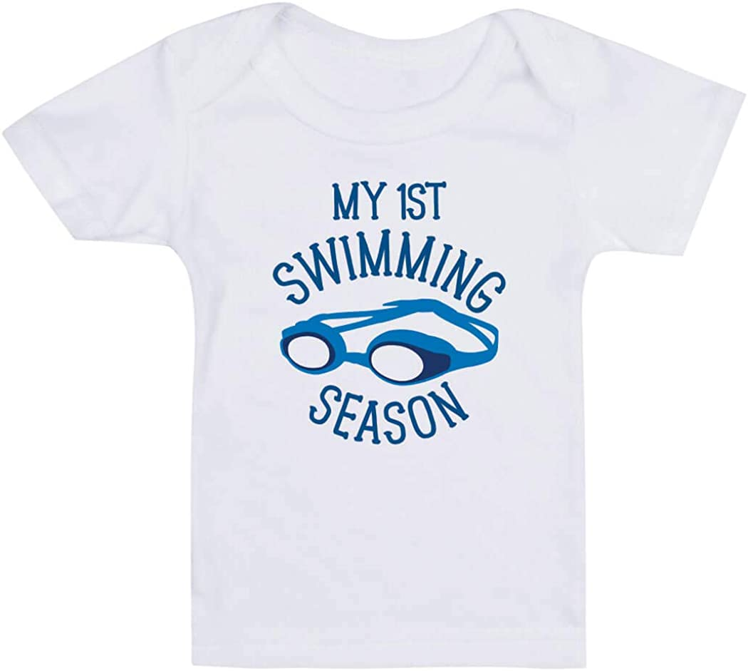 Colors /& Sizes ChalkTalkSPORTS Swimming Baby /& Infant T-Shirts I Get My Skills from