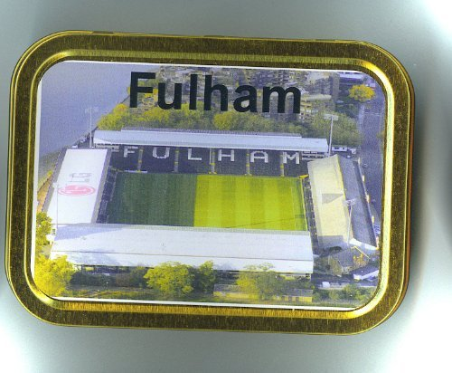 Soccer Club 2 oz Tobacco Tin-Fulham
