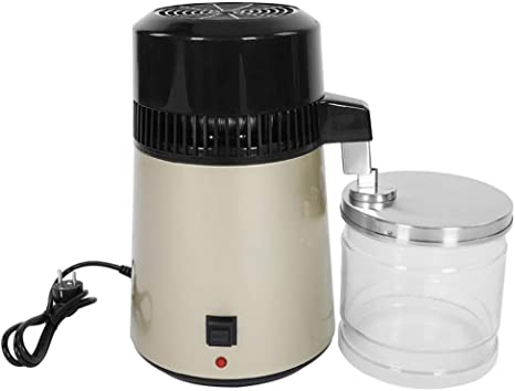 CWWHY Máquina Destiladora De Agua De Encimera De Acero Inoxidable ...