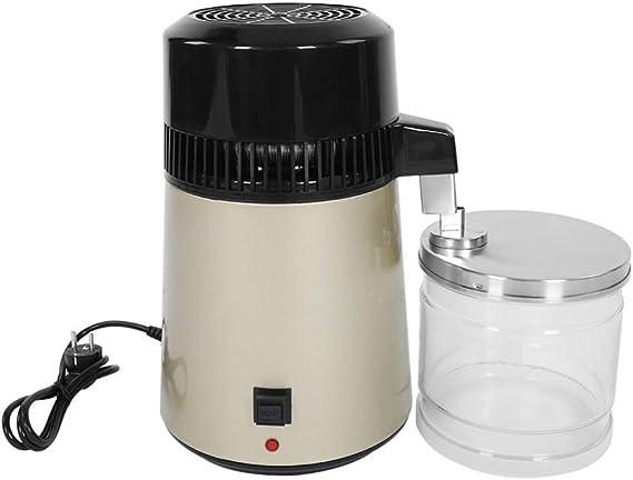 WYYZSS Destilación Filtro Purificador 4L Acero Inoxidable ...