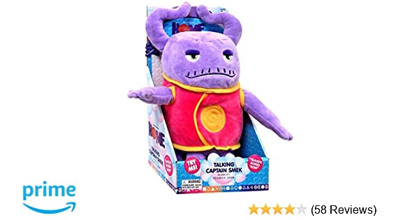 Amazon.com: Dreamworks Home - Talking Captain Smek Plush Toy: Toys & Games