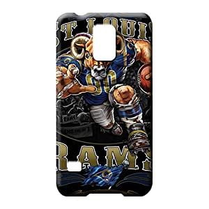samsung galaxy s5 Shock-dirt dirt-proof series mobile phone covers st. louis rams nfl football