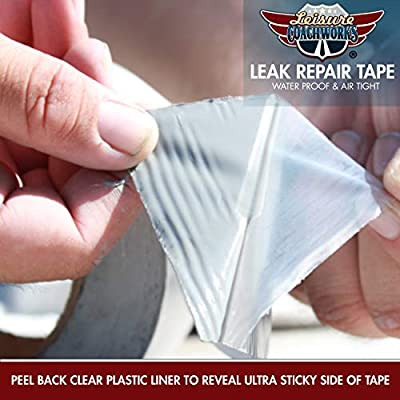 Leisure Coachworks RV Sealant Tape, 3 Inch x 50 Foot RV White Roof Seal Tape UV & Weatherproof Sealant Roofing Tape for RV Repair, Window, Boat Sealing Camper Roof Leaks (LCW-3