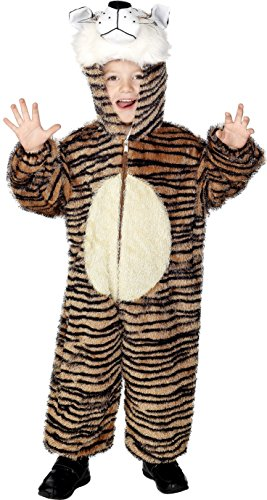 Kids Carnival Costumes Uk (7-9 Years Children's Tiger Costume)