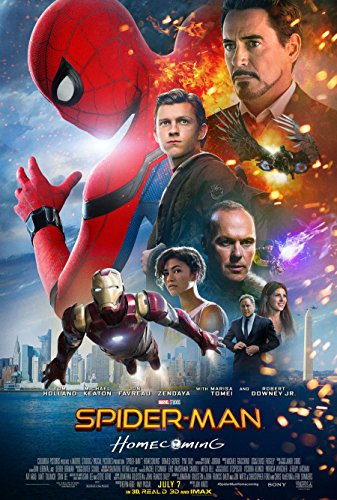 Spider-Man Homecoming Movie Poster Limited Print Photo Tom Holland, Michael Keaton, Robert Downey Jr. Size 8x10 #1