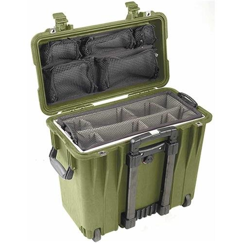 Pelican 1440 Padded Dividers Green product image