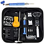 Yezijin Watch Repair Kit Professional Spring Bar Tool Set Watch Band Link Pin Tool