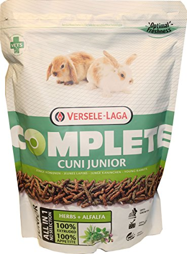 Versele-Laga Complete All-In-One Cuni Junior Food For Rabbits 6 To 8 Months, 1.2 Pounds
